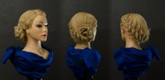 Hair updo by Puk, www.rockyourhair.dk  #hair #updo #style #girl #denmark #blonde #randers