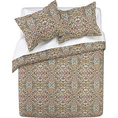 Lucia Bed Linens in Duvet Covers   Crate and Barrel
