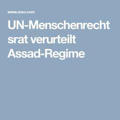 UN-Menschenrechtsrat verurteilt Assad-Regime