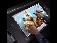 uh!!! its a iPad?? no is a wacom tablet device...