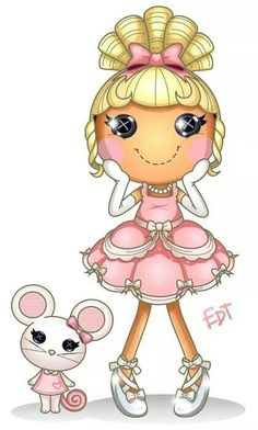 Powerpuff (and other stuff) and Lalaloopsy fan art by thweatted 2 Clipart, Cute Clipart, Lol Dolls, Cute Dolls, Creative Pictures, Cute Pictures, Dibujos Anime Chibi, Fairy Coloring Pages, Lalaloopsy Party