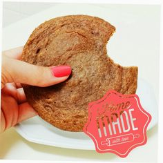 Fit Food Ideas: Cookie de Microondas: Sabor Pasta de Amendoim                                                                                                                                                                                 Mais