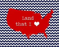 Land that I LOVE #freeprintable