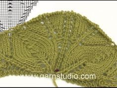 DROPS Knitting Tutorial: How to work the beginning of the shawl in DROPS In this DROPS video we show you how to begin the Sweet Leaves shawl in DROPS according to chart . This shawl is knitted in DROPS BabyAlpaca Silk, but in the video we Knitting Short Rows, Lace Knitting, Knitting Stitches, Gilet Crochet, Knitted Shawls, Knit Crochet, Knitting Videos, Crochet Videos, Stitch Patterns