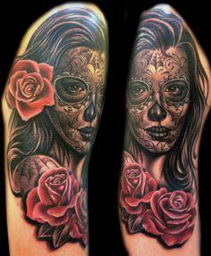 ~Sugar Skull Girl~ love the face design