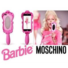 Modern Barbie Moschino silikon Handyhülle für iphone 5/5S, iphone 6 und iphone 6 plus