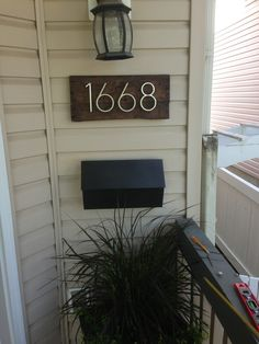 vamped up house numbers