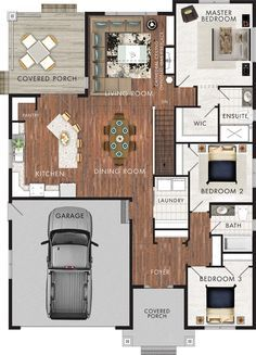 Beaver Homes and Cottages - Brookside 1596 sqf.