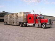 Image detail for -Big Rig Trucks Semi Trucks Kruz Cattle Truck 1 JPG