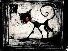 Znalezione obrazy dla zapytania white scary cat