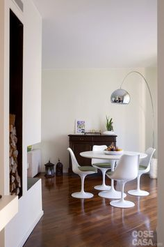 House: more livable after the renovation – Table Ideas Tulip Table, Parisian Apartment, White Furniture, Small Apartments, Sweet Home, New Homes, Living Room, Interior Design, House Styles
