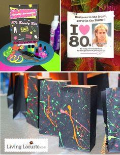 80s Theme Party Decorations Ideas
