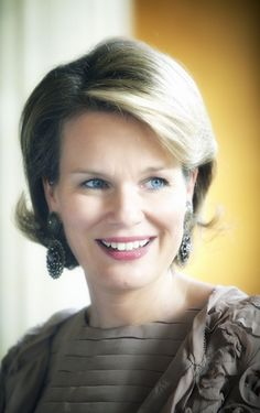 Noblesse & Royautés:  Crown Princess Mathilde of Belgium
