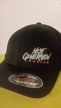 08a7da4bfaf4d Girls Flexfit Hat  20.00 with Next Generation Racing Logo Hat Styles