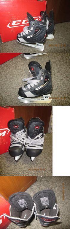 Ice Hockey-Youth 26342: New Ccm U + 08 Hockey Skates, Skate Size 9.0, Gender Yt, Width D -> BUY IT NOW ONLY: $49.99 on eBay!