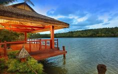 The #jetty and #boating at #Fragrant Nature #Resort - A #RareIndia #retreat is as #private and #exclusive as it can get! #Explore More: http://bit.ly/VOPNID