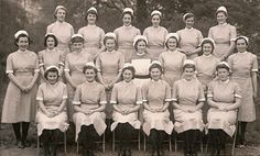 Love all the smiling faces in this graduating nursing class. Hope they all stayed that cheerful on the job!