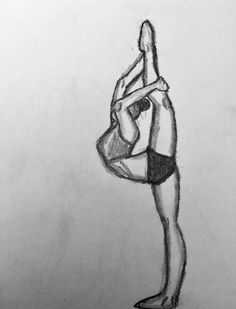 New painting easy ballerina 52 ideas Malen lernen # Girly Drawings, Anime Drawings Sketches, Art Drawings Sketches Simple, Pencil Art Drawings, Sketch Art, Random Drawings, Ballet Drawings, Dancing Drawings, Ballerina Drawing