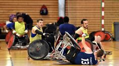 """""""Jeux paralympiques de Rio : l'équipe de France de rugby fauteuil entre en scène"""""""