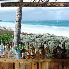 """Beach House Tapas Restaurant and Bar in Eleuthera....Ahhhhhh Heaven....this is my favorite """"tourist"""" restaurant on the island....drop dead beautiful site, good tapas lunch, lovely former home turned into a beachfront restaurant...."""