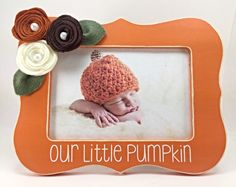 A personal favorite from my Etsy shop https://www.etsy.com/listing/465465200/gift-for-baby-babys-first-halloween-our