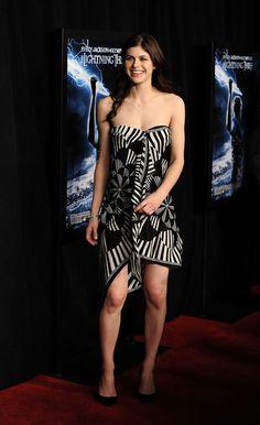 "Alexandra Daddario Photos: Premiere Of ""Percy Jackson & The Olympians: The Lightning Thief"""