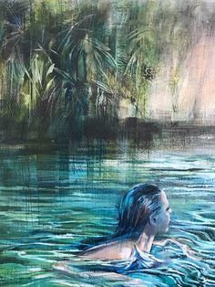 Solitude (2020) painting by Karen Wykerd | StateoftheART