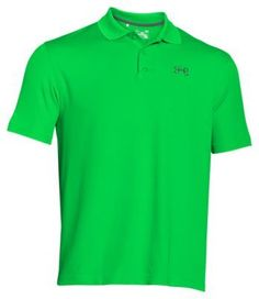 Under Armour Fish Hook Polo for Men - Green Energy - 2XL