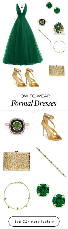 """""""Untitled #729"""" by paty8797 on Polyvore featuring Selim Mouzannar, Imagine by Vince Camuto, Jemma Wynne, Palm Beach Jewelry, BillyTheTree and Allurez"""