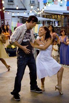 "kenerwekbysvyken: "" Chase Collins (Robert James Hoffman) and Andie West (Briana Evigan) dancing salsa in Step Up Robert Hoffman is fine! Shall We Dance, Lets Dance, Dance Movies, New Movies, Moose Step Up, Step Up Dance, Step Up 3, Step Up Movies, Step Up Revolution"