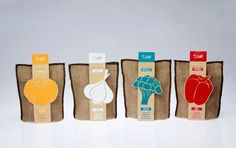 Color-Focused Snack Packaging - Kim Gyeongah's Eat Color Concept Highlights Vegetable Hues