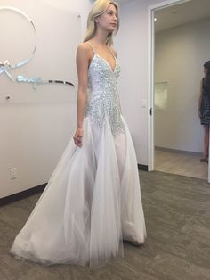 The Comet gown from Hayley Paige 2016! So pretty!