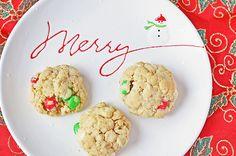 Christmas Crunch Cookies