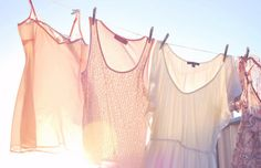Is there anything sweeter than clothes on a line?