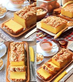 Image may contain: food Indonesian Desserts, Asian Desserts, Indonesian Food, Indonesian Recipes, Cake Truffles, Cake Cookies, Marbel Cake, Bolu Cake, Cake Recipes