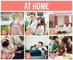 At home couple ideas