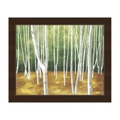 Click Wall Art Forest Framed Painting Print on Canvas