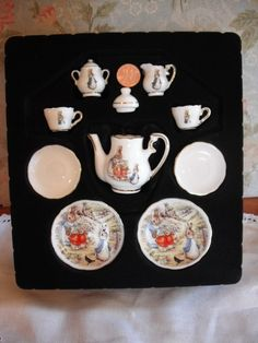 beatrix potter tea set - I have parts of this somewhere