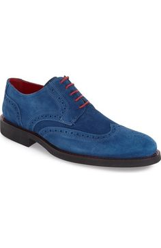Bugatchi 'Arezzo' Wingtip (Men) available at #Nordstrom