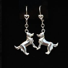 Sterling slier Golden Retriever Earrings   25% off through May 10th.  Apply Coupon MOTHERSDAYOFF25