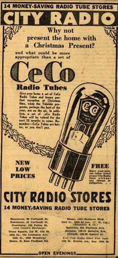 CECO Radio Tubes