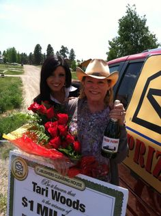 Tari Woods from Colorado won $1,000,000.00 from Publishers Clearing House on May 31st 2012!  Way to go girl!