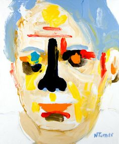 """Saatchi Online Artist: Neal Turner; Oil 2012 Painting """"Pablo Picasso"""""""