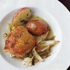Chef G. Garvin | Braised Garlic & Sage Chicken