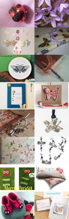 Brilliant Bugs! by Lindsay Buck on Etsy--Pinned with TreasuryPin.com