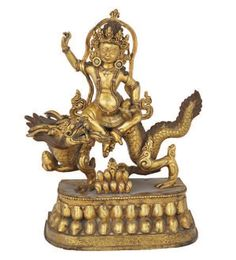 Flaming Dragon, Deities, Buddhism, 19th Century, Bronze, Antiques, Vintage, Tinkerbell, Antiquities