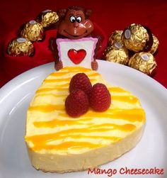 I know I'm a little late, hope you guys enjoyed your day. I had a wonderful time with my hubby and friends. Just Desserts, Delicious Desserts, Yummy Food, Baking Recipes, Cake Recipes, Dessert Recipes, Mango Recipes, Sweet Recipes, Yummy Treats