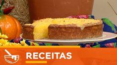 Santa Receita | Aprenda a fazer um delicioso bolo de mandioca com Julio ...