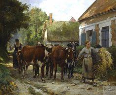 Julien Dupre Paintings