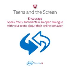 Advocate free speech! Follow this important tip to keep your kids talking about what they do online. #TeensNScreens